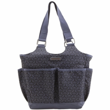 Timi & Leslie Tag-a-long Tote Diaper Bag in Joey