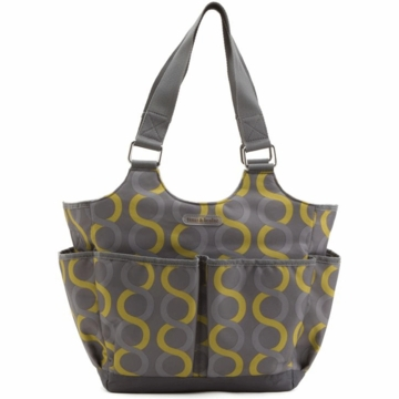 Timi & Leslie Tag-a-long Tote Diaper Bag in Sami