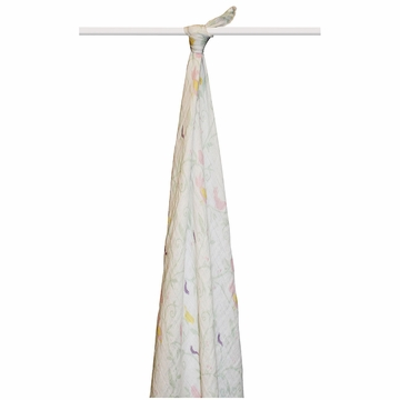 Aden + Anais Boutique 100% Organic Cotton Muslin Single Swaddle - Enchanted