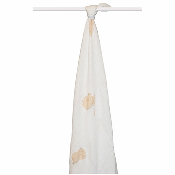 Aden + Anais Boutique 100% Organic Cotton Muslin Single Swaddle - Safari