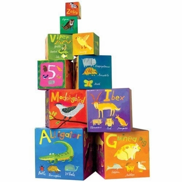 EeBoo Alphabet Tot Towers