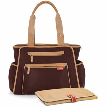 Skip Hop Grand Central Take-it-All Diaper Bag in Chocolate