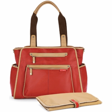 Skip Hop Grand Central Take-it-All Diaper Bag in Cinnamon