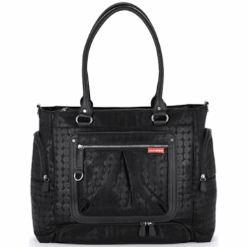 Skip Hop Lady Bento Diaper Bag in Black Dot