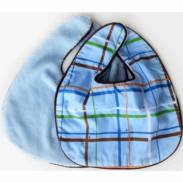 Caden Lane 2 Piece Bib Set in Plaid