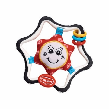 Tiny Love Tiny Smarts My First Rattle - Star