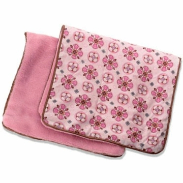 Caden Lane 2 Piece Burp Set in Pink Small Morrocan