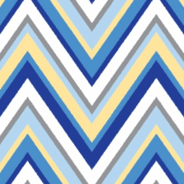 Caden Lane Changing Pad Cover in Blue Chevron