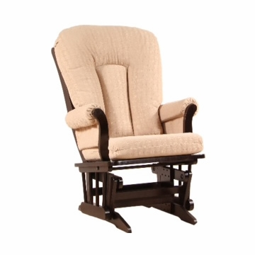 Dutailier Ultramotion Sleigh Glider - Espresso Finish