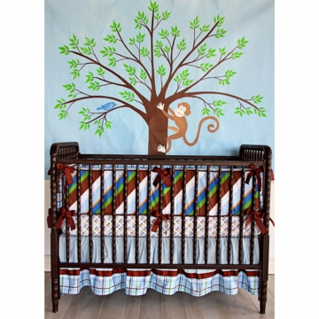 Caden Lane Gabe 3 Piece Crib Bedding Set