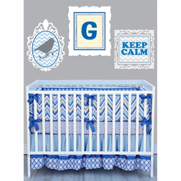 Caden Lane Gage 3 Piece Crib Bedding Set