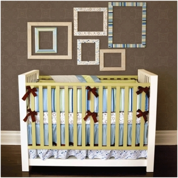 Caden Lane Jack 4 Piece Crib Bedding Set