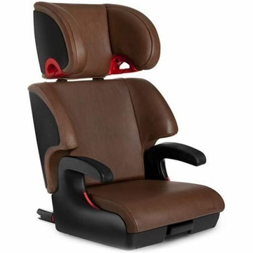Clek Oobr Booster Seat - Saddle Leather (Limited Edition)
