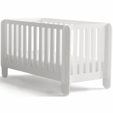Oeuf Elephant Crib in White