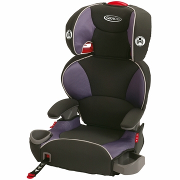 Graco AFFIX Youth Booster Seat with Latch System - Grapeade