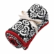 Petunia Pickle Bottom Organic Stroller Blanket Frolicking in Fez