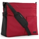 Mamas & Papas Messenger Diaper Bag - Red/Black