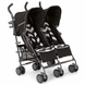 Mamas & Papas Tour Twin Stroller - Black