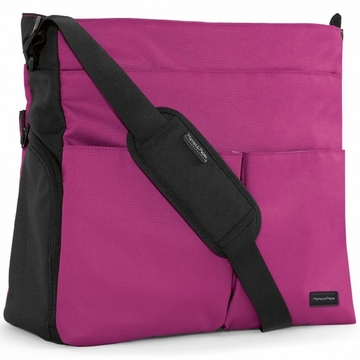 Mamas & Papas Messenger Diaper Bag - Hot Pink