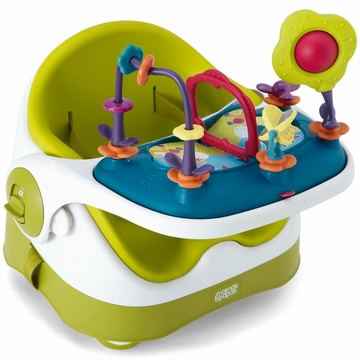 Mamas & Papas Baby Bud Booster Seat & Activity Tray - Lime