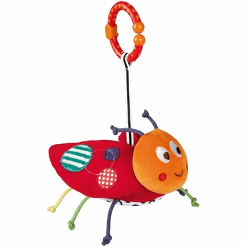 Mamas & Papas Babyplay Chime Toy - Ladybird