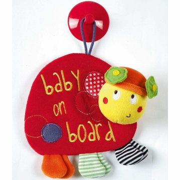 Mamas & Papas Babyplay Baby on Board - Ladybird