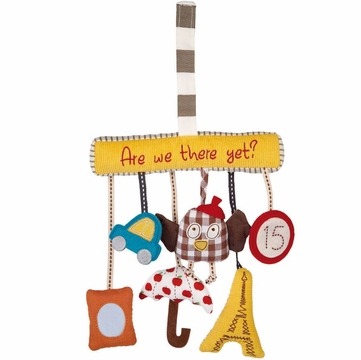 Mamas & Papas Travel Charm Toy - Are We There Yet