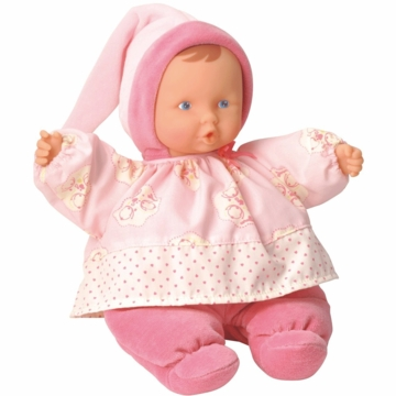 Corolle Babipouce Pink Cotton Flower Doll