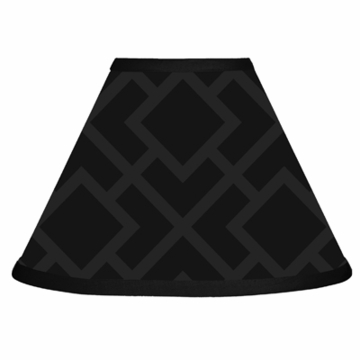 Sweet JoJo Designs Diamond Black Lamp Shade
