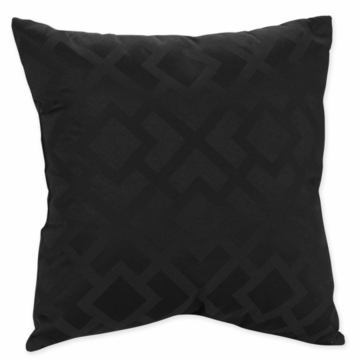 Sweet JoJo Designs Diamond Black Decorative Throw Pillow