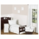 Sweet JoJo Designs Diamond White 5 Piece Toddler Bedding Set