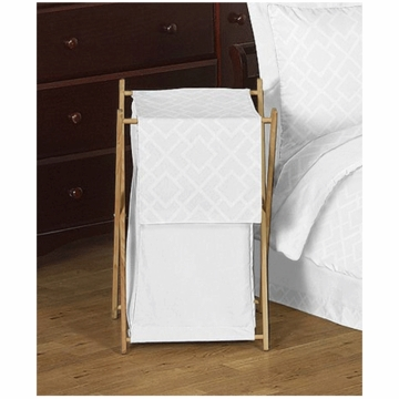 Sweet JoJo Designs Diamond White Hamper