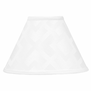 Sweet JoJo Designs Diamond White Lamp Shade