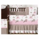 Sweet JoJo Designs Elephant Pink  9 Piece Crib Bedding Set