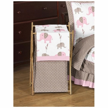 Sweet JoJo Designs Elephant Pink Hamper