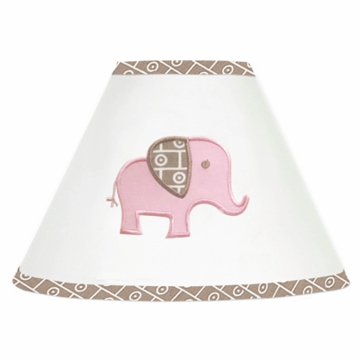 Sweet JoJo Designs Elephant Pink Lamp Shade