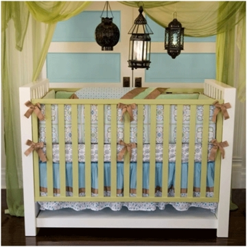 Caden Lane Ryan 4 Piece Crib Bedding Set
