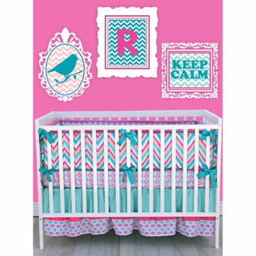 Caden Lane Ryleigh 3 Piece Crib Bedding Set