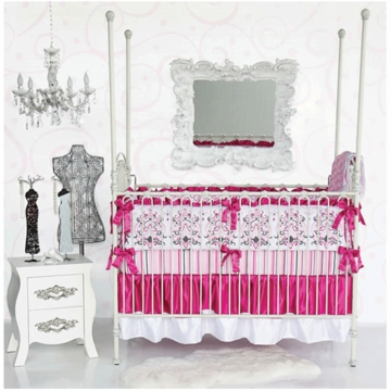 Caden Lane Sophie 4 Piece Crib Bedding Set