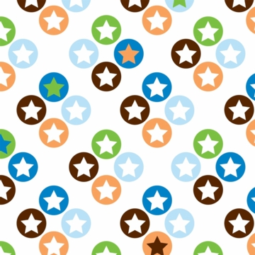 Caden Lane Sheet in Star Dot