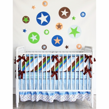 Caden Lane Tanner 3 Piece Crib Bedding Set