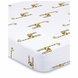 Aden + Anais 100% Cotton Muslin Crib Sheet - Jungle Jam - Giraffe