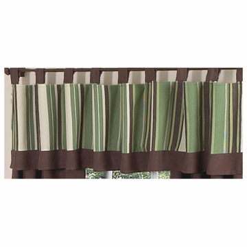 Sweet JoJo Designs Ethan Window Valance