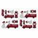 Sweet JoJo Designs Firetruck Wall Decals