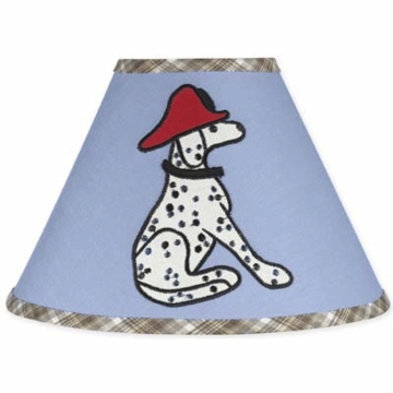 Sweet JoJo Designs Firetruck Lamp Shade