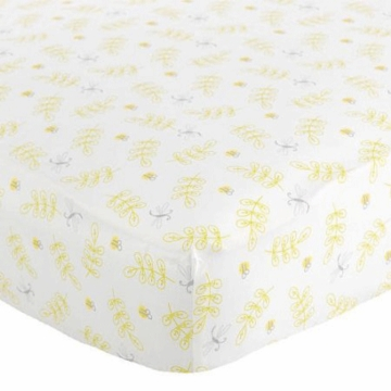 Carter's Bumble Bee Dragonfly Fitted Crib Sheet