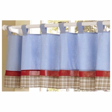 Sweet JoJo Designs Firetruck Window Valance