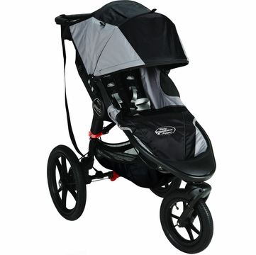 Baby Jogger Summit X3 Single Stroller - Black / Gray