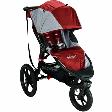 Baby Jogger Summit X3 Single 2013 Stroller - Orange / Gray