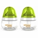 Lansinoh mOmma 5 Oz Feeding Bottle - 2 Pack
